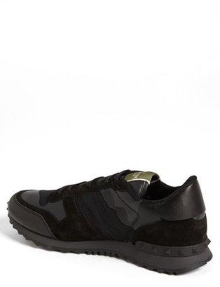 Valentino Camouflage Sneaker (Men)