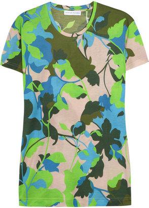 Jonathan Saunders Floral-print jersey T-shirt