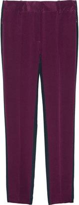 3.1 Phillip Lim Two-tone silk crepe de chine pants