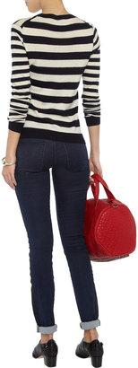 Current/Elliott Rider two-tone skinny jeans