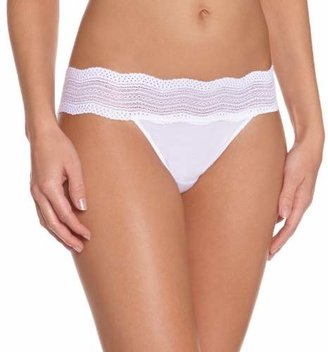 Cosabella Women'S Lacethong - - Blanc () - (Brand Size: Taille Unique)