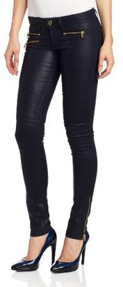 DL1961 Women's Hazel Moto Skinny Jean in Speedster