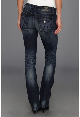 MEK Yokohama Slim Bootcut in Dark Blue (Dark Blue) - Apparel