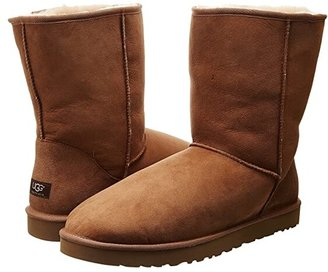 UGG Classic Short (Black) Men's Pull-on Boots