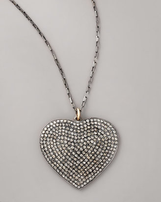 Jessica Kagan Cushman Heart Pendant Necklace