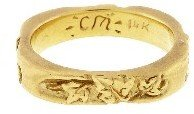 Catherine Michiels Eternity de L'Amour Band - 14 Karat Gold