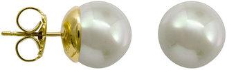 Majorica White Tahitian Pearl Stud Earrings, 12mm