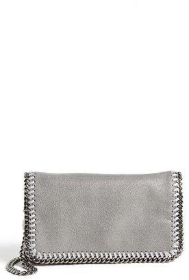 Stella Mccartney 'Falabella - Shaggy Deer' Faux Leather Crossbody Bag - Black $770 thestylecure.com