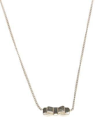 Chloé bow detail necklace