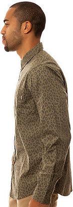Obey The Invader Buttondown in Blotch Camo