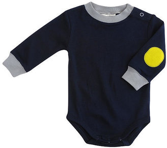 Cynthia Rowley Elbow Patch Bodysuit - Navy (0-3 Months)