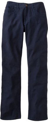Generra slim straight canvas pants - men
