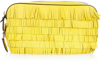 Marc Jacobs Suzie fringed leather clutch