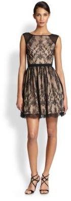 Aidan Mattox Lace Cocktail Dress