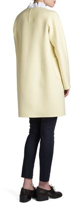 Jil Sander Raipur Collarless Open Coat