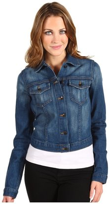Joe's Jeans Cropped Jacket in Millicent (Millicent) - Apparel