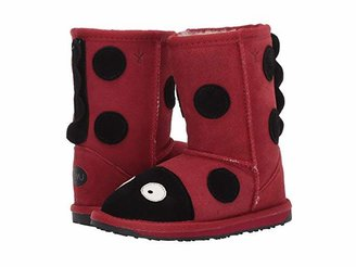 Emu Little Creatures (Toddler/Little Kid) (Red (Ladybug)) Kid's Shoes