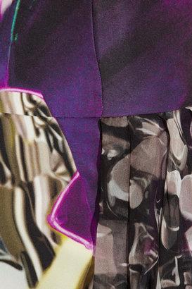 Mary Katrantzou Iron Lung printed silk dress