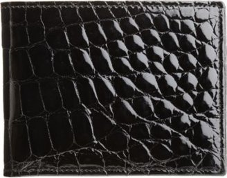 Barneys New York Glazed Alligator Billfold