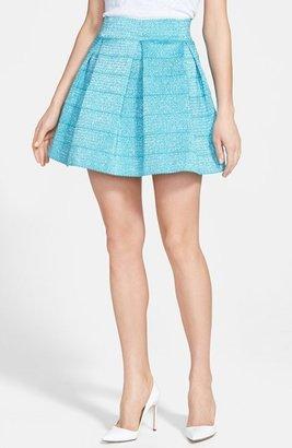Devlin Metallic Pleated Skirt