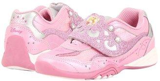 Stride Rite Disney Wish Lights Aurora (Toddler/Little Kid) (Pink/Silver) - Footwear