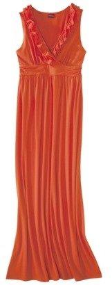 Merona Petites Ruffled Neck Maxi Dress - Assorted Colors