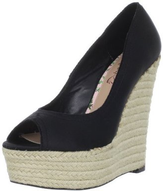 CeCe L'amour Women's Heidi Wedge Pump