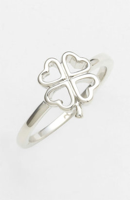 Ariella Collection Clover Ring