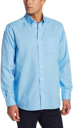 Cutter & Buck Men's Long Sleeve Epic Easy Care Nailshead Shirt