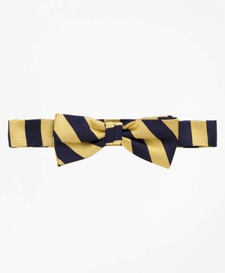 Brooks Brothers Boys Guard Striped Bow Tie