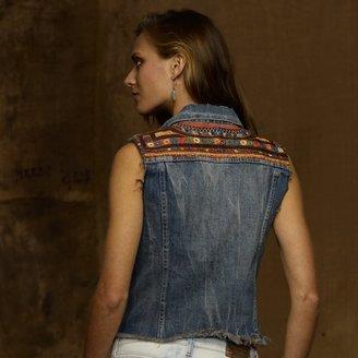 Denim & Supply Ralph Lauren Embellished Vest