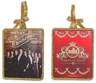 Kurt Adler Downton Abbey Rectangle Glass Ornament