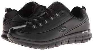 SKECHERS Work - Sure Track - Trickel Women's Shoes $69.95 thestylecure.com