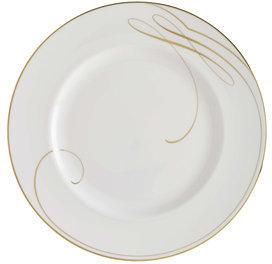 Waterford Ballet Ribbon Gold Dinner Plate