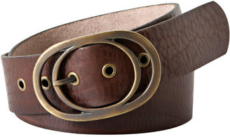Fossil Vintage Oval Buckle Belt