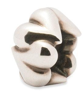 Bed Bath & Beyond Trollbeads Sterling Silver Bead - Organic Hearts