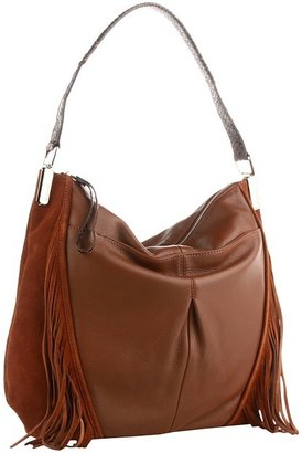 B. Makowsky Hudson Hobo (Maple) - Bags and Luggage