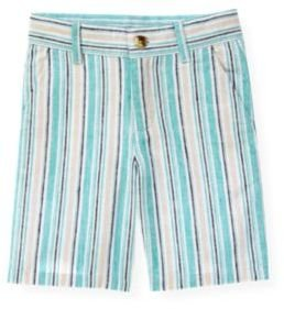 Janie and Jack Linen Blend Stripe Short