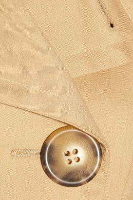 Vivienne Westwood Vienna stretch-cotton twill peacoat