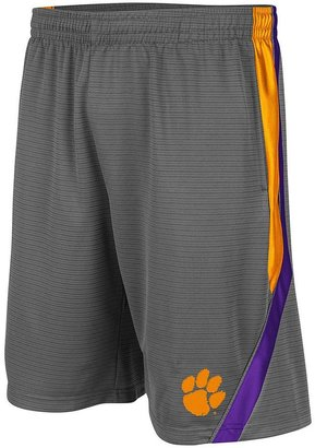 Colosseum clemson tigers basketball shorts - men
