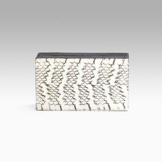 Nancy Gonzalez Whipsnake Boxed Clutch