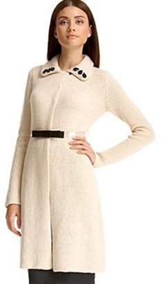 Tracy Reese Long Belted Cardigan