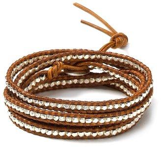 Chan Luu Natural Brown 5 Wrap Bracelet