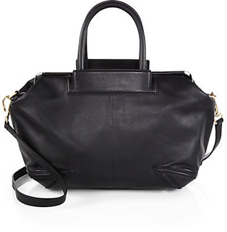 Brian Atwood Sophia Leather Satchel