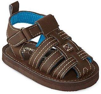 JCPenney Okie Dokie® Toddler Boys Brown Sandals