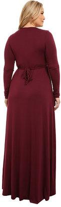 Rachel Pally Plus Plus Size Long Sleeve Full Length Caftan