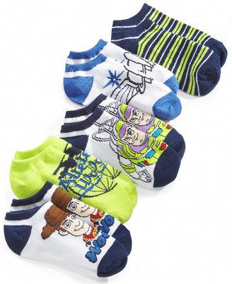 Disney Kids Socks, Boys and Little Boys Toy Story 5-Pack No-Show Socks