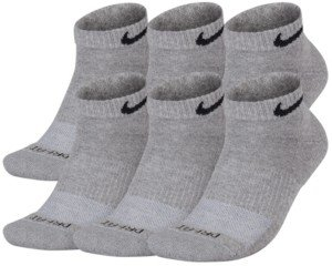 Nike Men's Socks, Dri Fit Low Cut 6 Pack