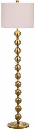 Safavieh Reflections 58.5Inch H Stacked Ball Floor Lamp Brass - Safavieh®;