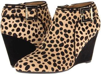 Isaac Mizrahi New York - Winonalee (Black/Brown Haircalf) - Footwear